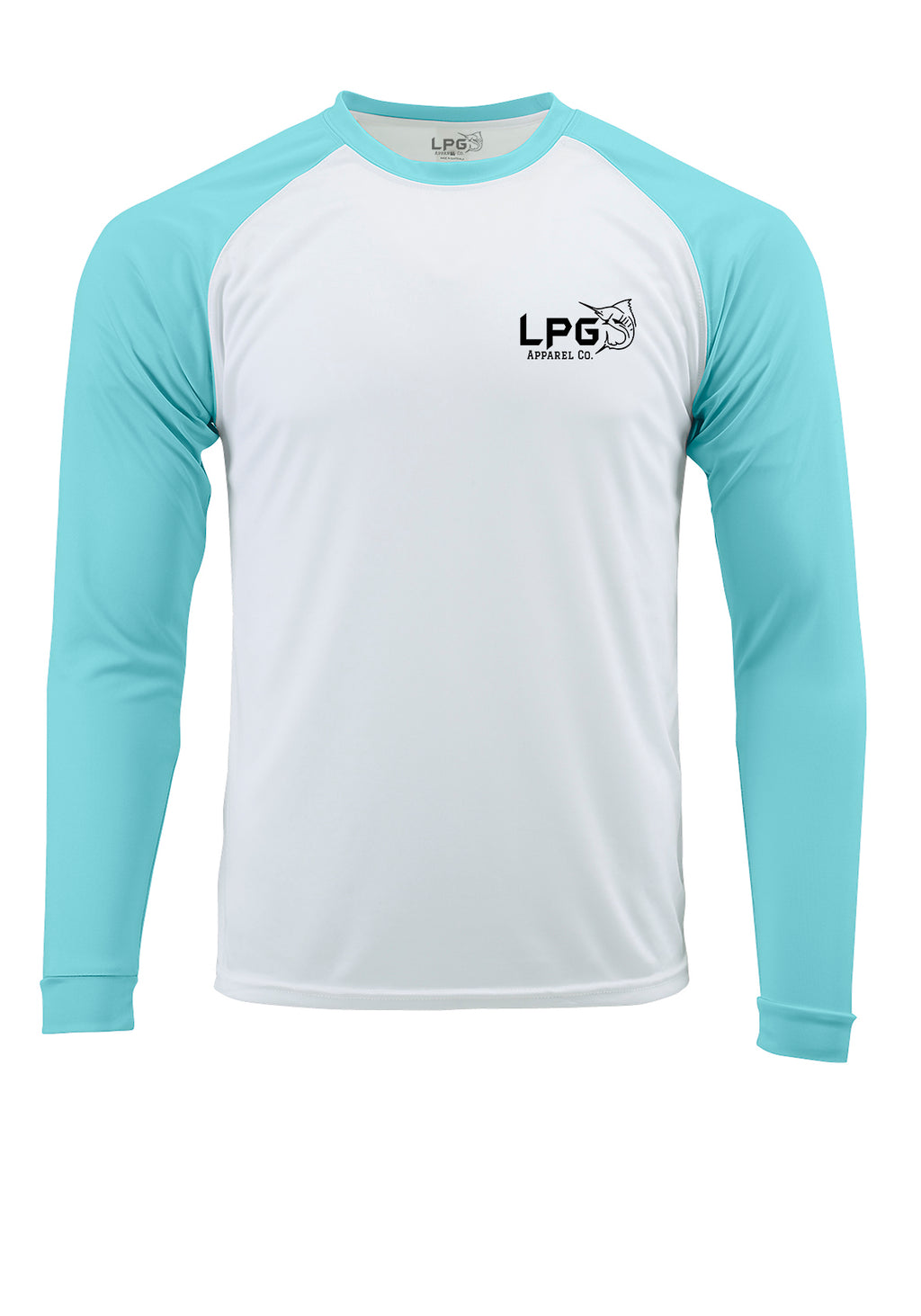 LPG Apparel Co. Grander Marlin Bahama Style  Rashguard LS Performance UPF 50 Unisex Shirt
