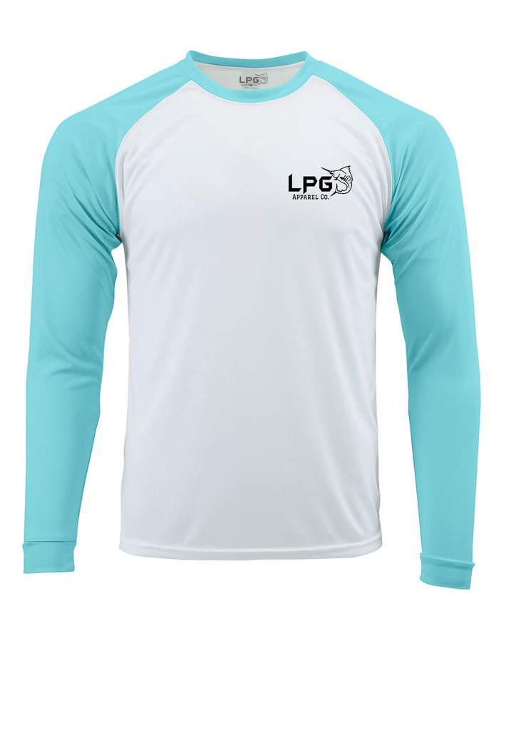 lobo-sportfishing - LPG Apparel Co. Grander Marlin Bahama Style  Rashguard LS Performance UPF 50 Unisex Shirt - LPG Apparel Co. - T-Shirt