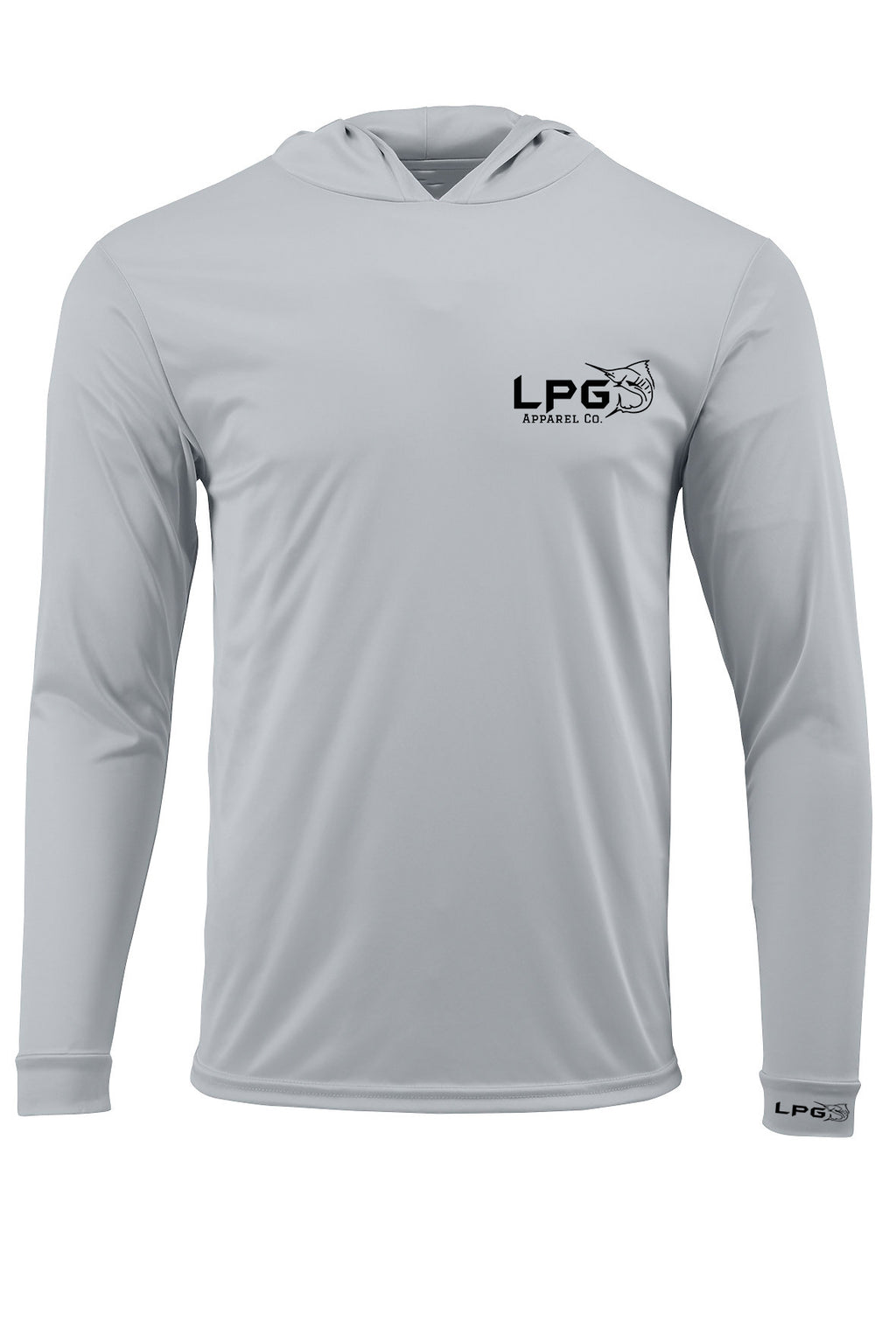 LPG Apparel Co. Performance Fishing Hoodie UPF 50+ Dri-Fit UV Protection Men & Women Long Sleeve T-Shirt
