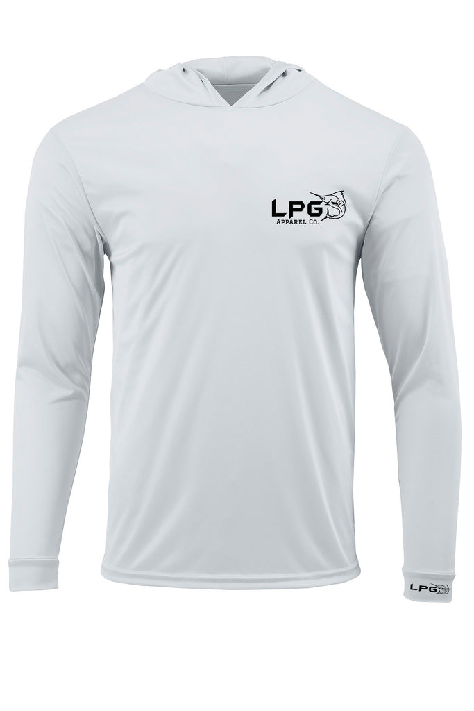 lobo-sportfishing - LPG Apparel Co. Performance Fishing Hoodie UPF 50+ Dri-Fit UV Protection Men & Women Long Sleeve T-Shirt - LPG Apparel Co. - Performance Gear