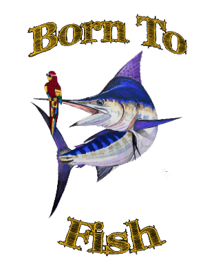 lobo-sportfishing - Baby Onesie Mark Ray Born To Fish 0-18 months - Lobo Marine Products LLC. - Apparel