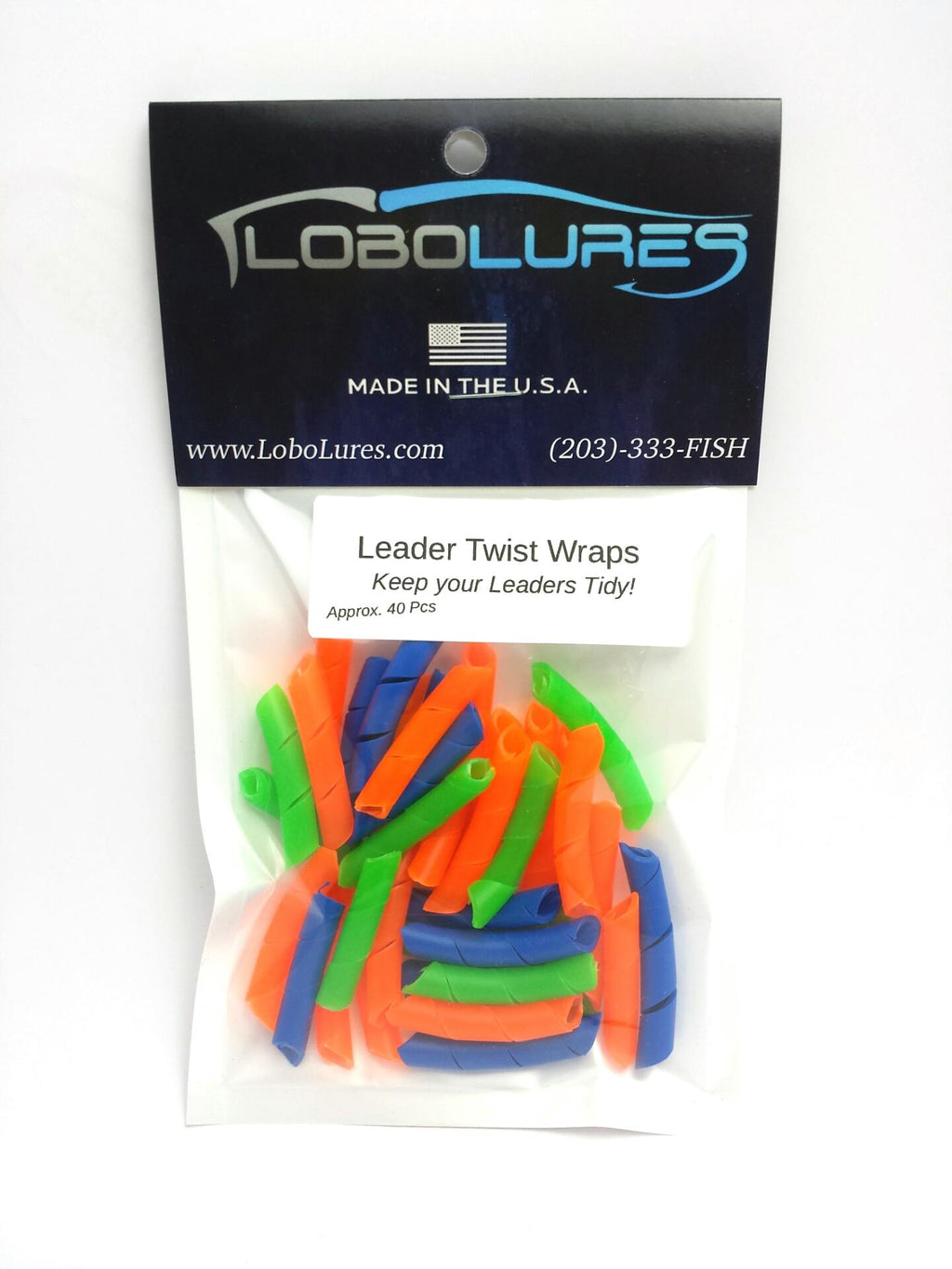 Lobo Lures Leader Twist Wraps