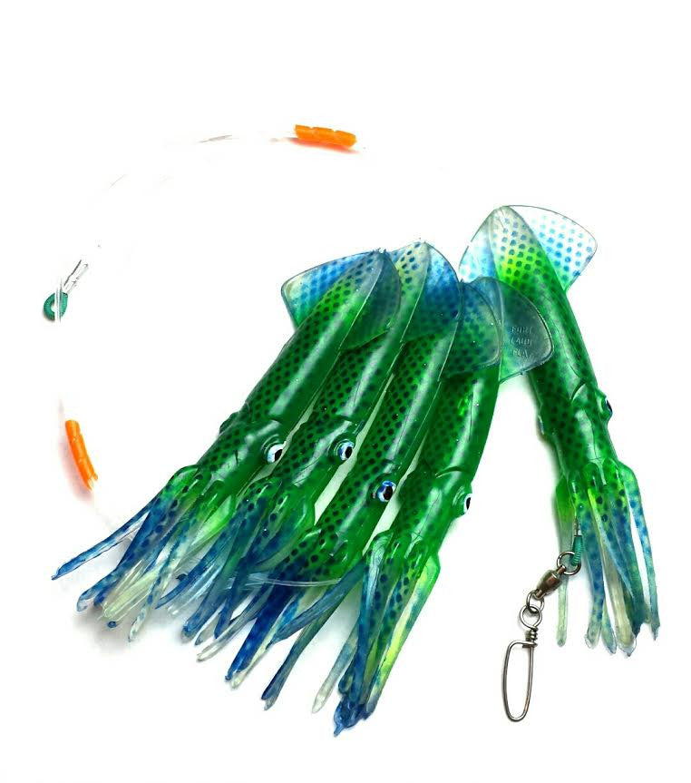 lobo-sportfishing - Lobo Lures Moldcraft Squid Daisy Chain 9 Inch - Lobo Lures -
