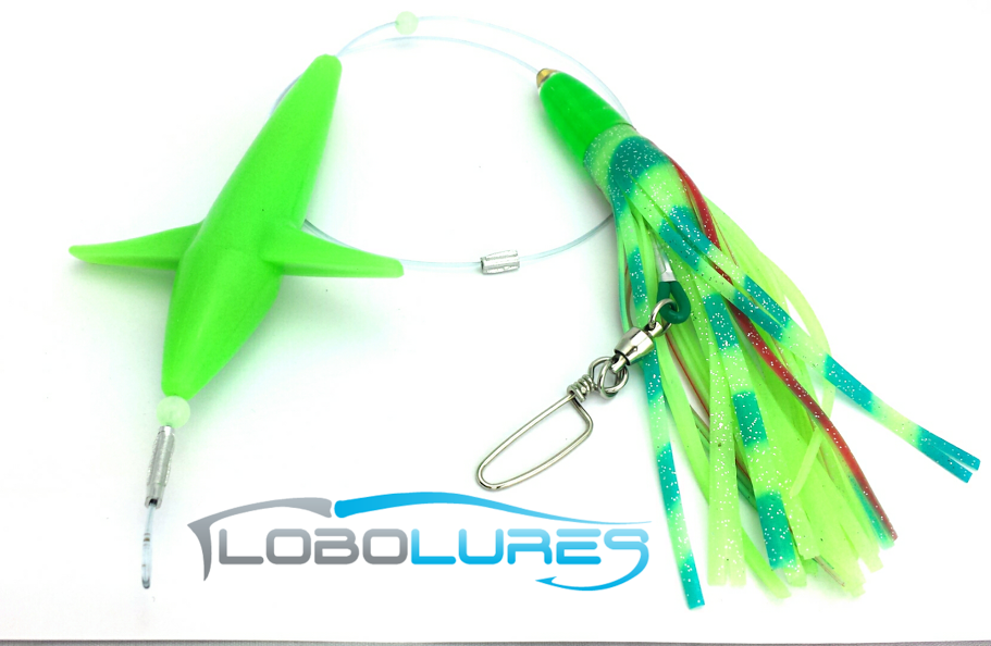 lobo-sportfishing - Add-a-Bird Super Glow Bullet Rig - Lobo Marine Products LLC. - Birds
