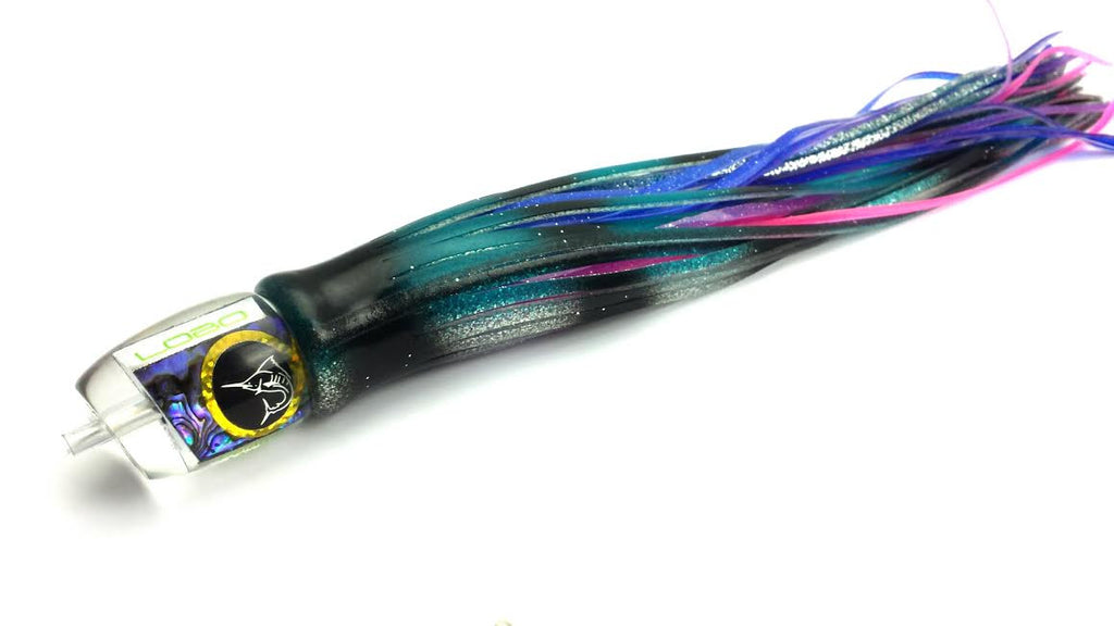 Lobo Lures #45  Pelagic Magic Tuna Trolling Lure-Made in the USA Marlin trolling lure, Tuna Lure, Big Game Fishing Lure