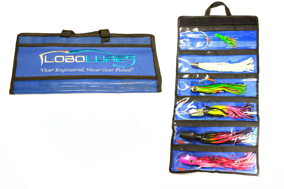 Lobo Lures Small 6 Pocket Lure Bags
