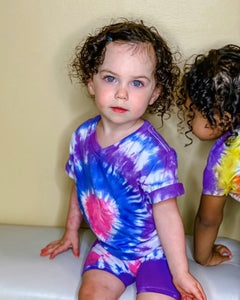 Heart Tie Dye T-Shirt & Shorts