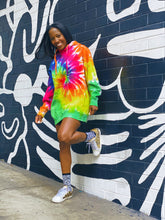 Load image into Gallery viewer, Rainbow Swirl Hoodie