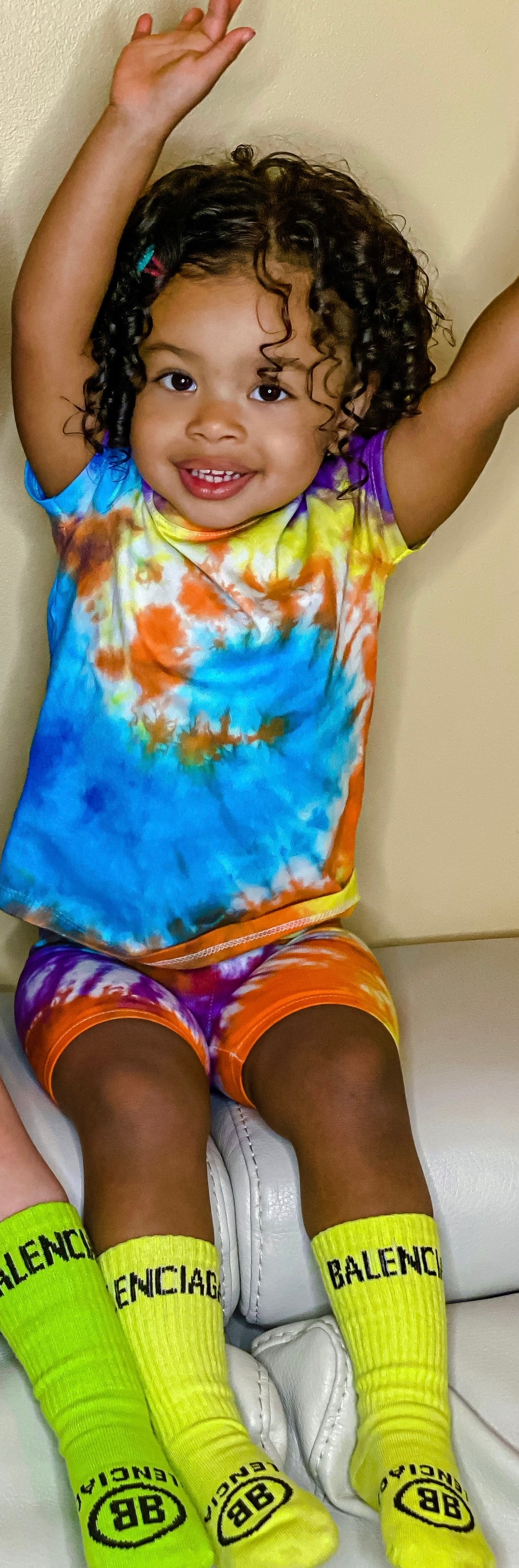 Starburst Tie Dye T-shirt & Shorts