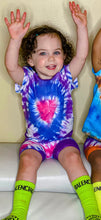 Load image into Gallery viewer, Heart Tie Dye T-Shirt & Shorts