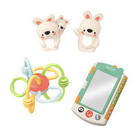 Infantino Gaga Learn & Play Teething Activity Gift Set