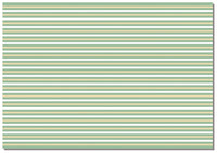 Briday Wrapping Paper - Striped Green and White Design