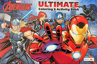 Disney Jumbo Ultimate Coloring and Activity Book - Avengers