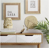 Ritual Palm Leaf Wall Hanging Brown - Opalhouse