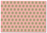 Briday Wrapping Paper - Coin Pattern Pink