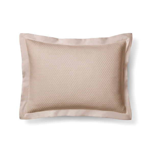 "Fieldcrest ""Standard Queen Pebble Matelasse Pillow Sham Tan 20""x 28"""