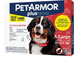 PetArmor Plus Flea & Tick Prevention for Extra Large Dogs (89-132 lbs), 6 Treatments