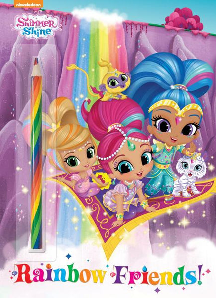 Rainbow Friends! (Shimmer and Shine) Activity Book