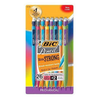 Bic Xtra Strong Break Resistant Leads Mechanical Pencils (26 Count)