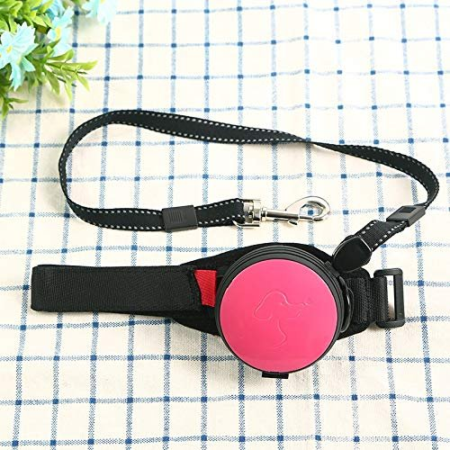 MRK Group Hands Free Dog Leash (Pink)