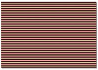 Briday Wrapping Paper - Striped Pink and Brown Design