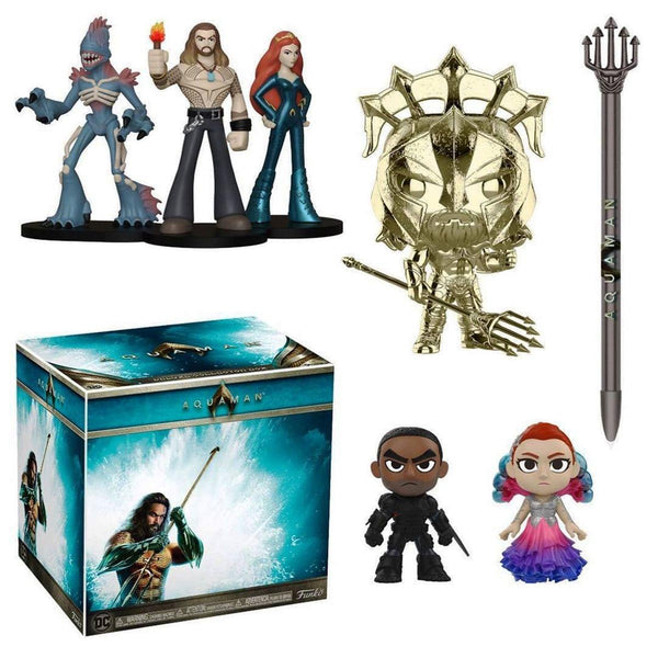Funko POP! DC Comics Aquaman Deluxe Collectors Box IN HAND! + FS!