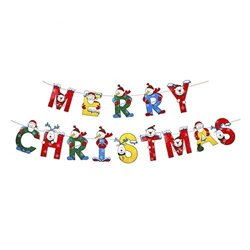 Merry Christmas Decorative Banner