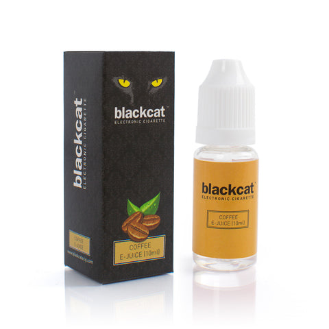 Blackcat E-Juice (10ml) - Coffee