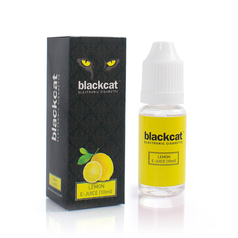 Blackcat E-Juice (10ml) - Lemon