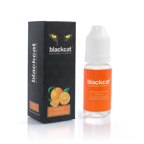 Blackcat E-Juice (10ml) - Orange