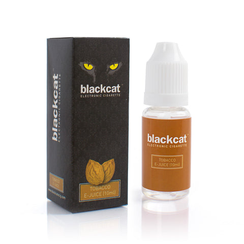 Blackcat E-Juice (10ml) - Tobacco
