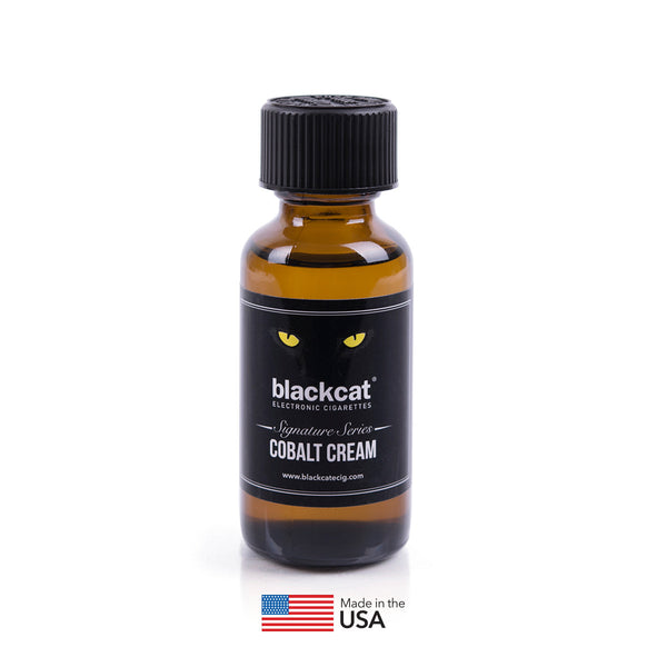 Blackcat Signature Series E-Juice (30ml) – Cobalt Cream