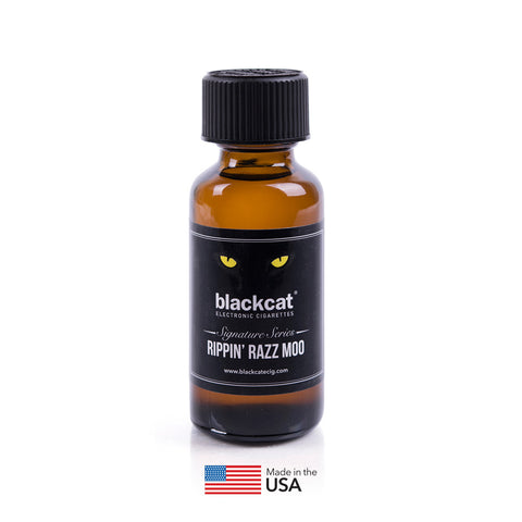 Blackcat Signature Series E-Juice (30ml) – Rippin Razz Moo