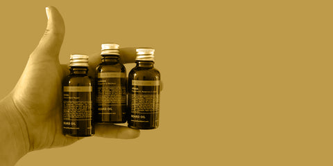beard oil collection, for a healthy and strong beard. It will soften and nourish, this set includes are three leading and best beard oils in a selection of unique scents.