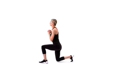 Bodyweight Alternating Lunge