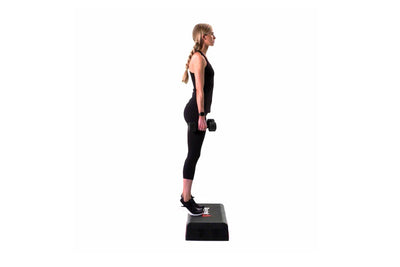 Dumbbell Elevated Calf Raise