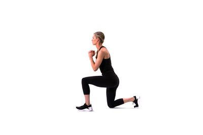 Bodyweight Pulse Lunge