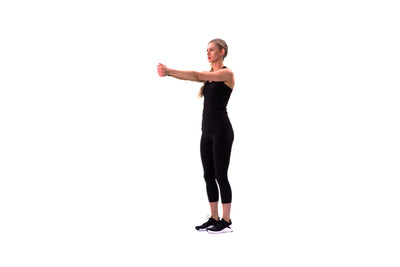 Bodyweight Rotation Lunge
