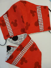 Load image into Gallery viewer, Pet Bandana-  Disney Red Mickey
