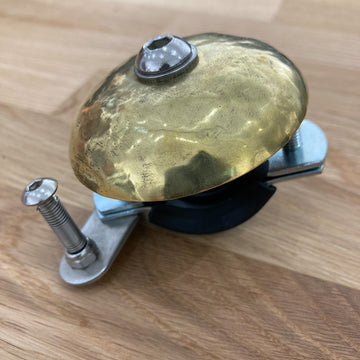 Critical Handmade Bicycle Bell - Polished Brass