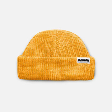 Wawwa Recycled Fisher Beanie - Amber