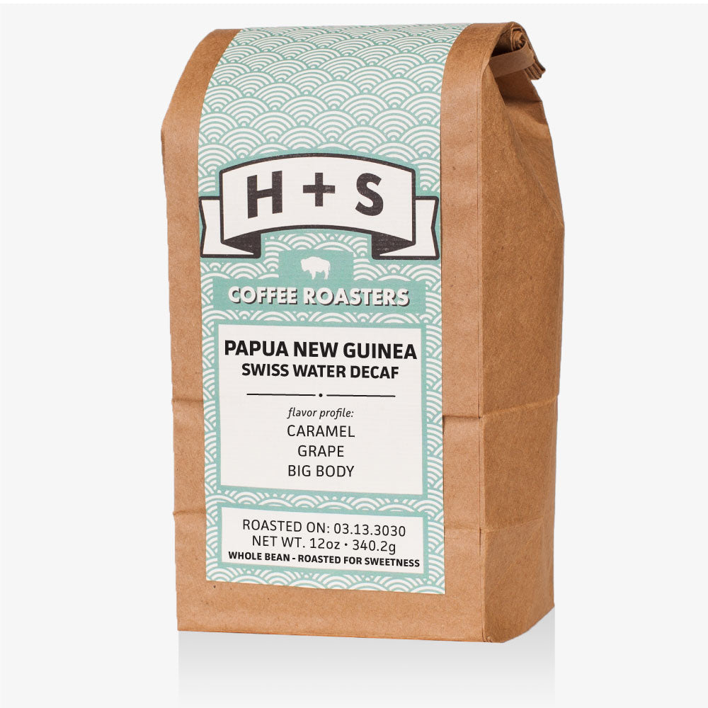 Papua New Guinea Swiss Water Decaf