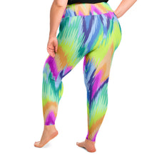Load image into Gallery viewer, Tie Dye Plus Size Leggings