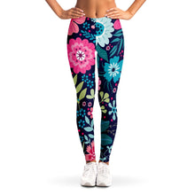 Load image into Gallery viewer, Floral Print Leggings