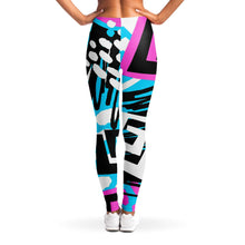Load image into Gallery viewer, Abstract Leggings