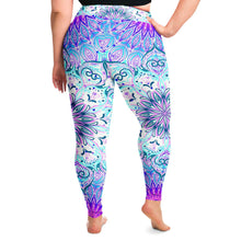 Load image into Gallery viewer, Mandala Plus Size Leggings