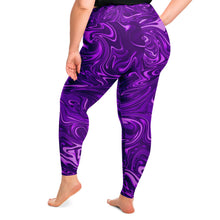 Load image into Gallery viewer, Psychedelic Plus Size Leggings
