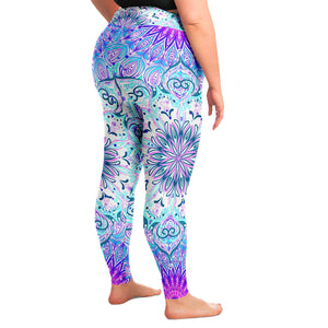 Mandala Plus Size Leggings