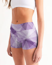 Load image into Gallery viewer, Pastel Print Women's Mid-Rise Yoga Shorts
