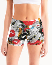 Load image into Gallery viewer, Pop Art Women's Mid-Rise Yoga Shorts